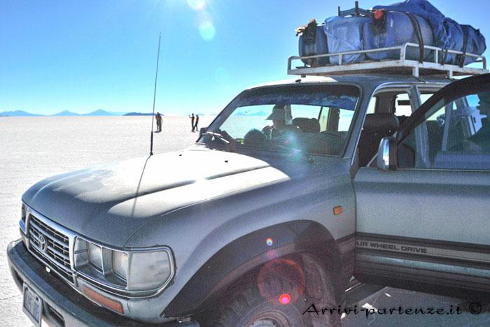 Salar de Uyuni, Bolivia desertica