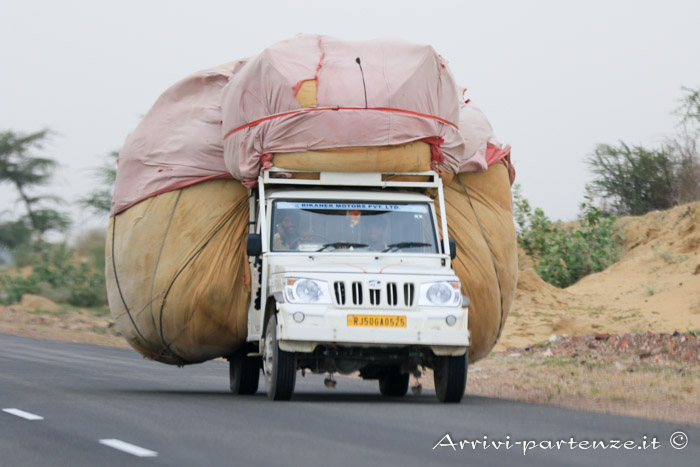 Come spostarsi in Rajasthan trasporto merci