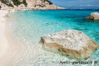 Cala dei Gabbiani nel Golfo di Orosei, Sardegna