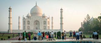 Il Taj Mahal di Agra, India