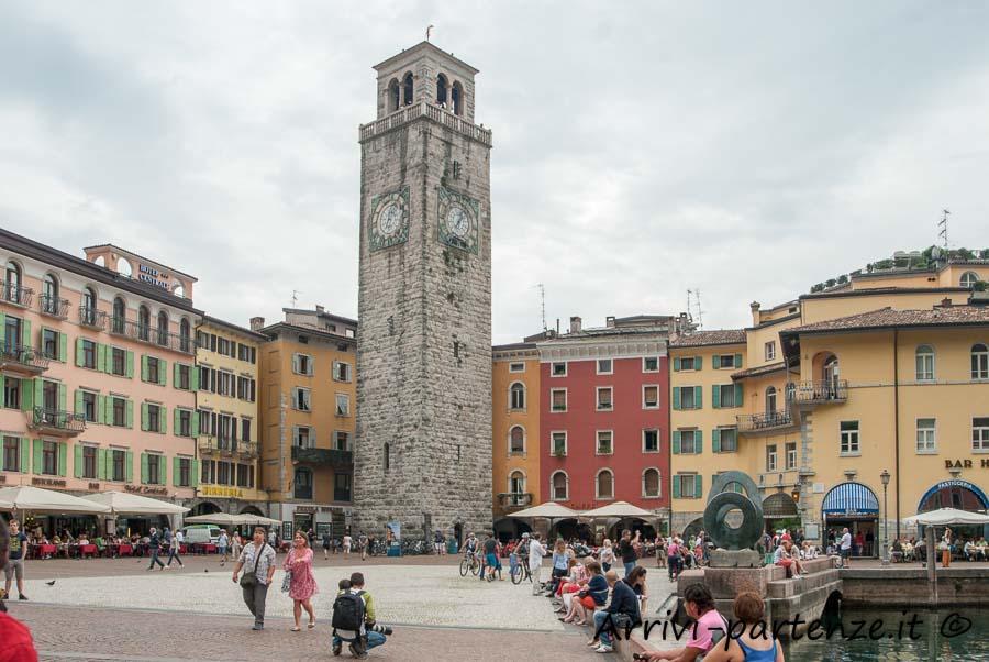Torre Apponale nel centro di Riva del Garda, Trentino - Alto Adige