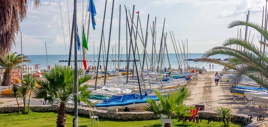 Barche a Vela a San Benedetto del Tronto, Marche