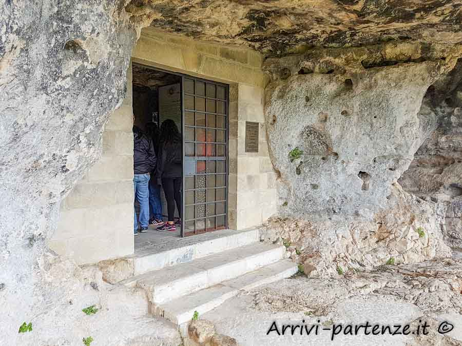la Cripta del Peccato Originale