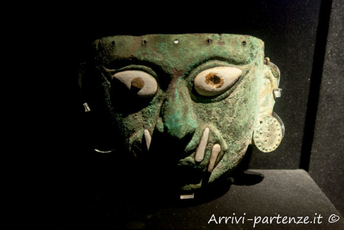 Reperto Inca presso Museo Larco Herrera di Lima, Perù
