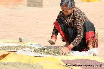 Donna locale, Nepal