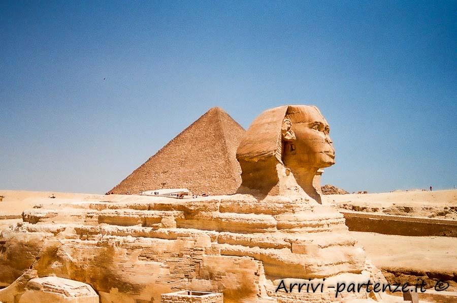 Sfinge e Piramide, Egitto