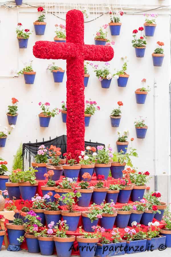 Croce di fiori a Cordova, Spagna