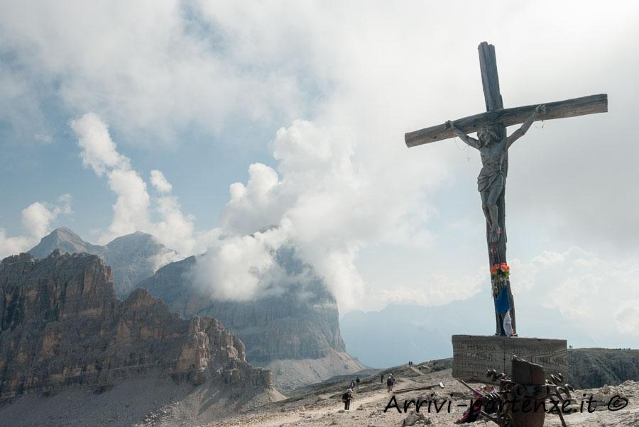 Croce alla vetta del Piccolo Lagazuoi, Veneto