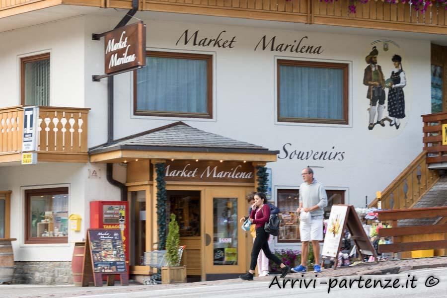 Supermarket di Arabba, Veneto