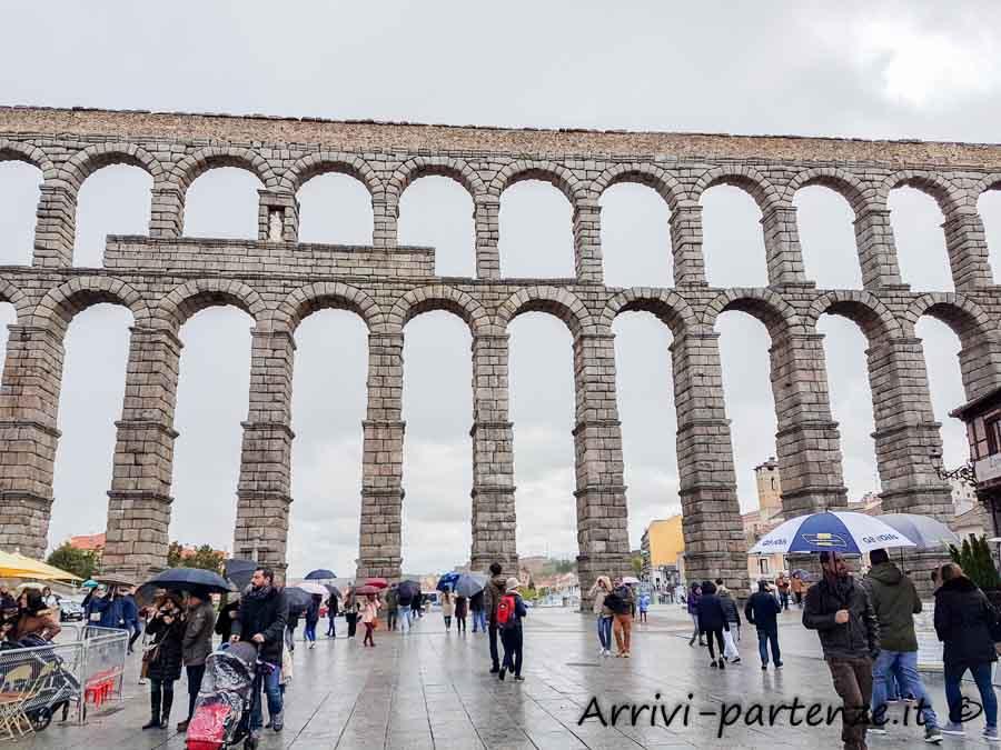 Acquedotto romano di Segovia, Spagna