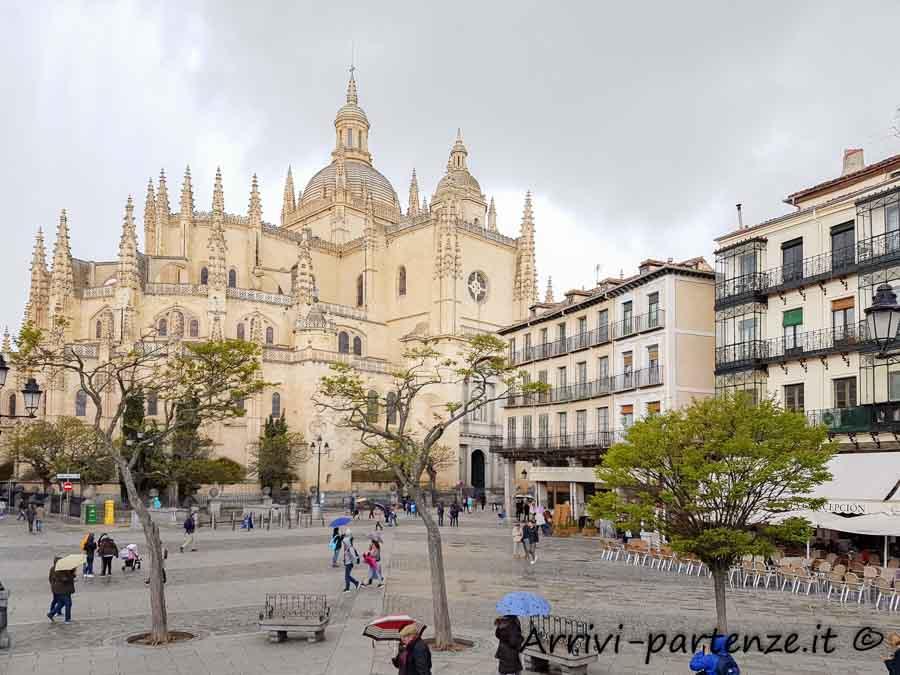 Esterno della Cattedrale di Segovia, Spagna