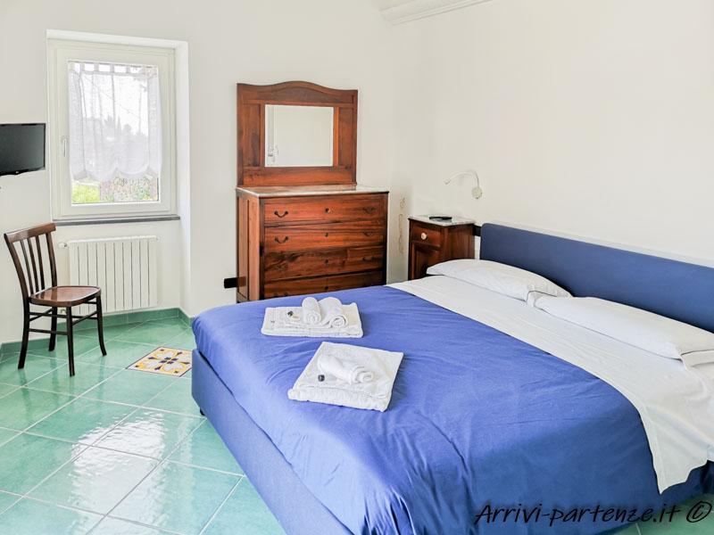 Camera matrimoniale della Casa Vacanze Dame a Pogerola frazione di Amalfi, Costiera Amalfitana