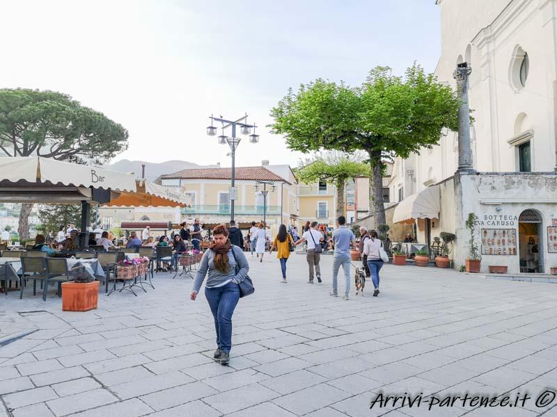 Piazza Centrale di Ravello, Costiera Amalfitana