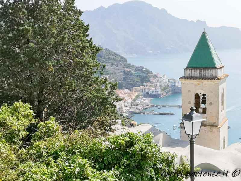 Vista panoramica di Amalfi, Costiera Amalfitana