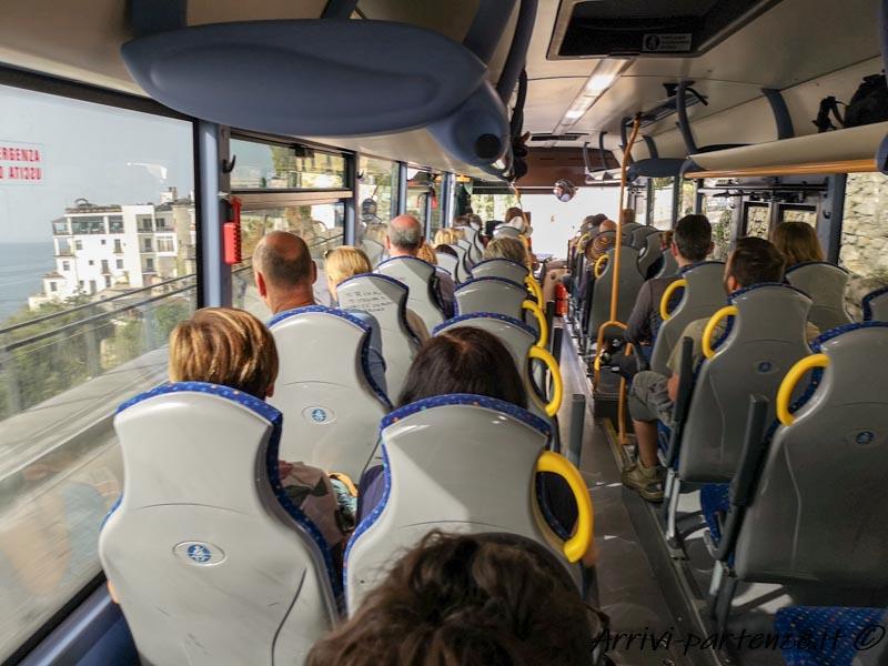 Bus della Sita Sud, Costiera Amalfitana