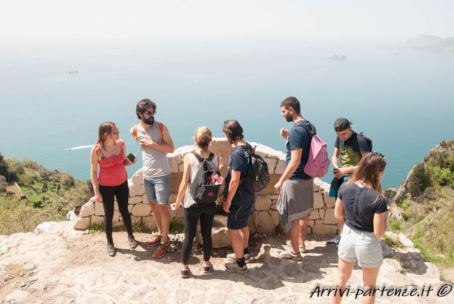 Fontanella sul Sentiero degli Dei, Costiera Amalfitana
