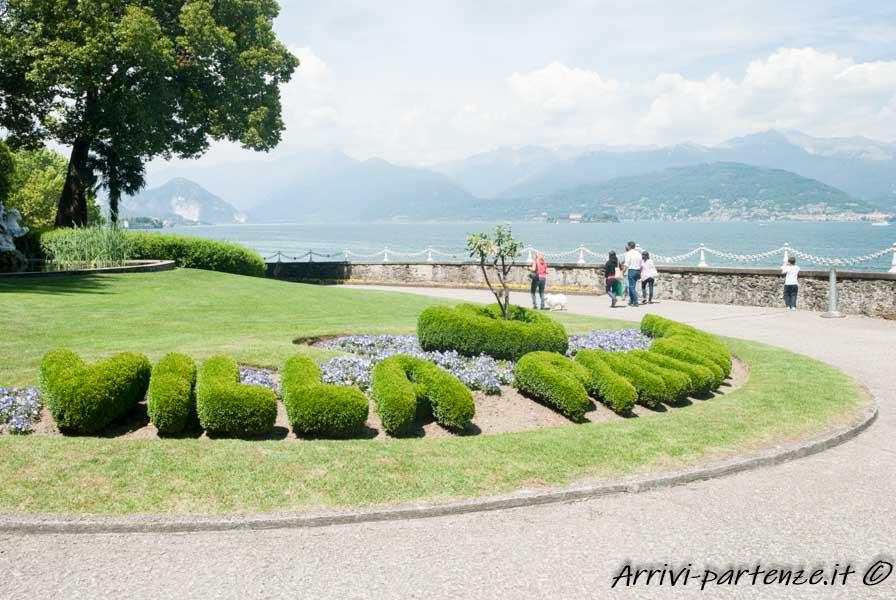 Ingresso di Villa Pallavicino a Stresa, Piemonte