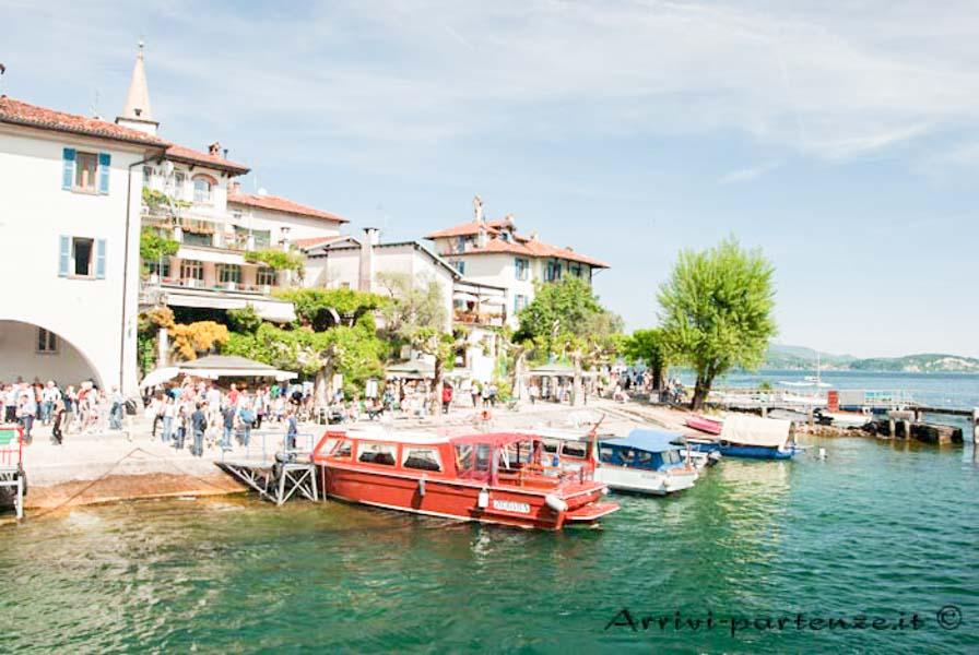 Molo dell'Isola dei Pescatori, Piemonte