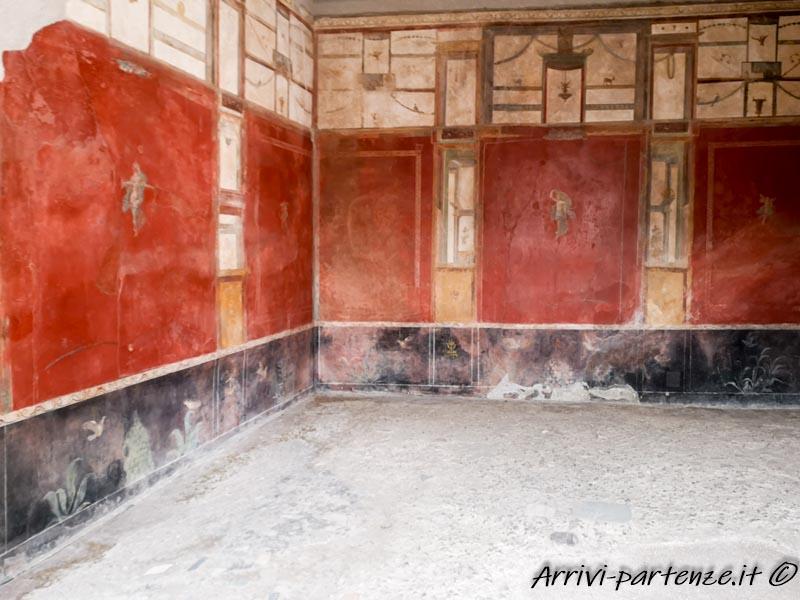 Pareti della Casa del Larario, Pompei