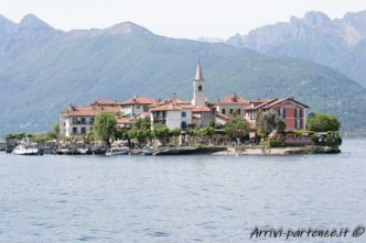 Vista panoramica dell'isola dei Pescatori, Piemonte
