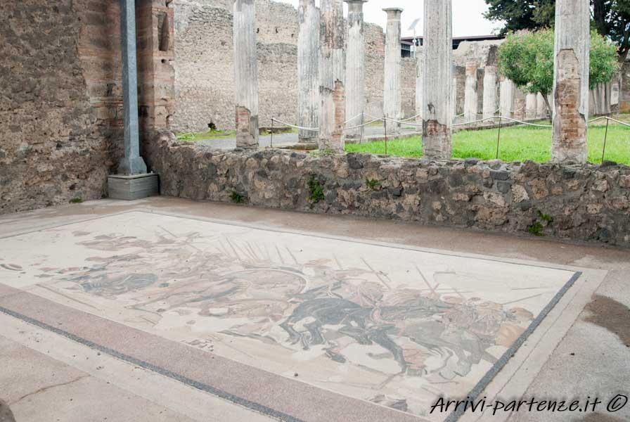 Mosaico della Battaglia di Isso presso la Casa del Fauno, Pompei
