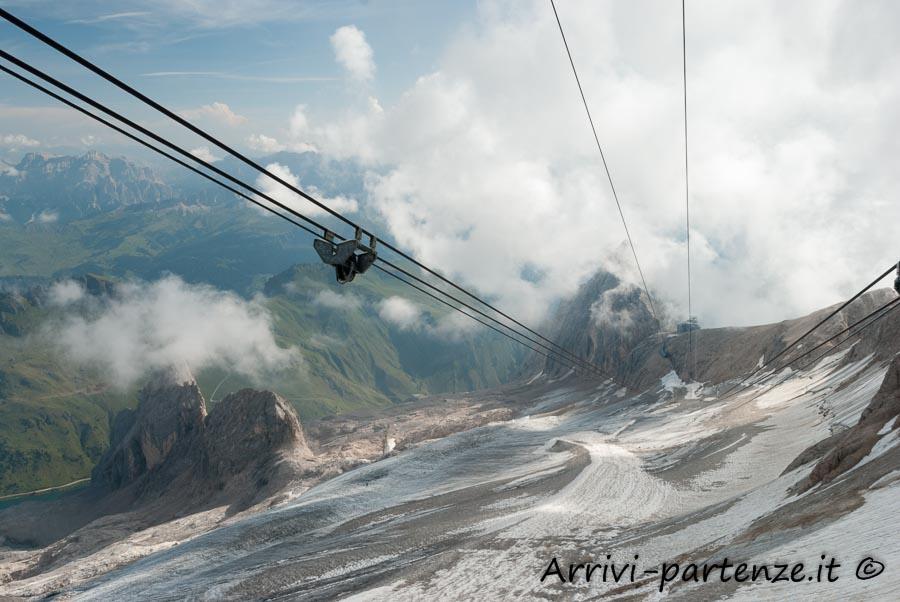 Cavi della Funivia della Marmolada, Trentino-Alto-Adige