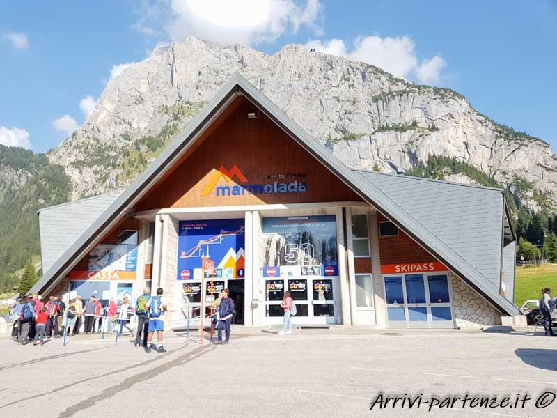 Funivia per la Marmolada, Trentino-Alto-Adige