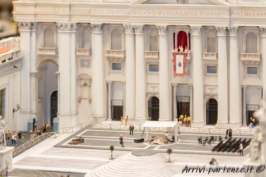 Basilica di San Pietro in Vaticano presso il Miniatur Wunderland di Amburgo, Germania