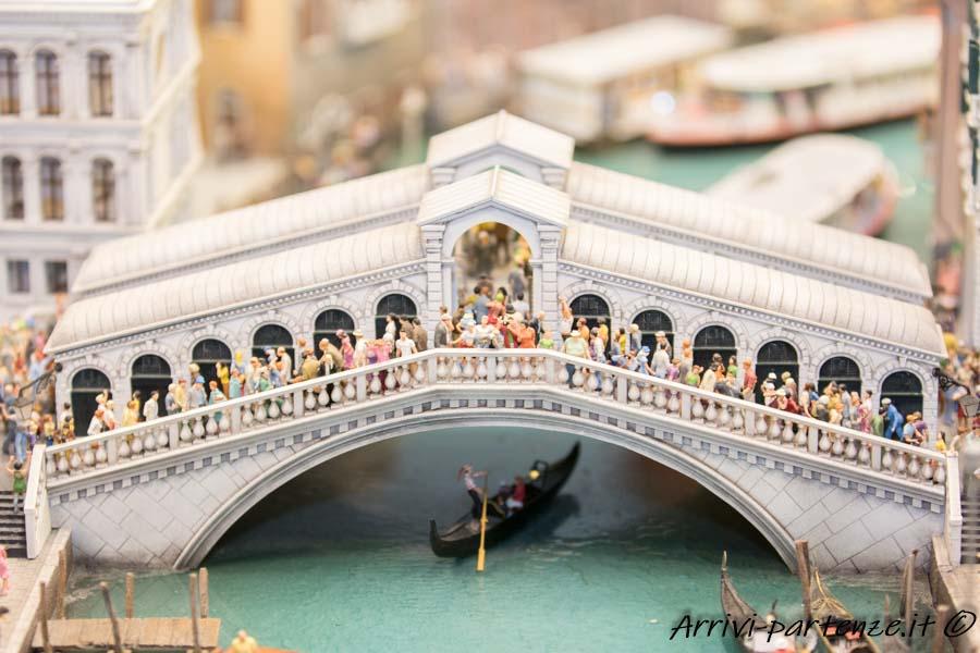 Ponte di Rialzo di Venezia, Miniatur Wunderland di Amburgo-Germania