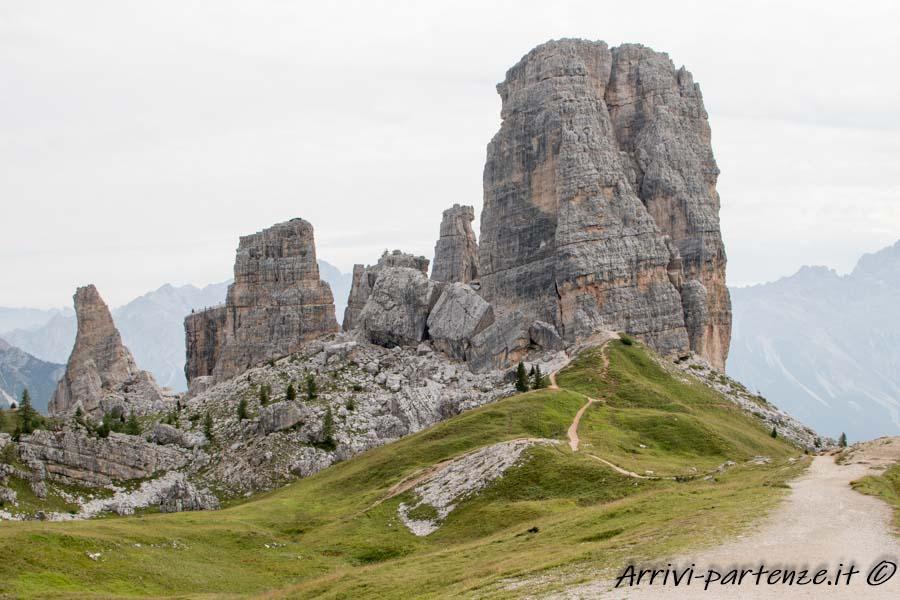 Panorama delle 5 Torri, Trentino Alto-Adige