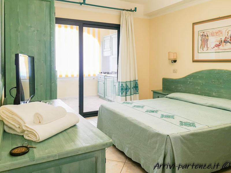 Camera del Residence Cala Liberotto, Sardegna